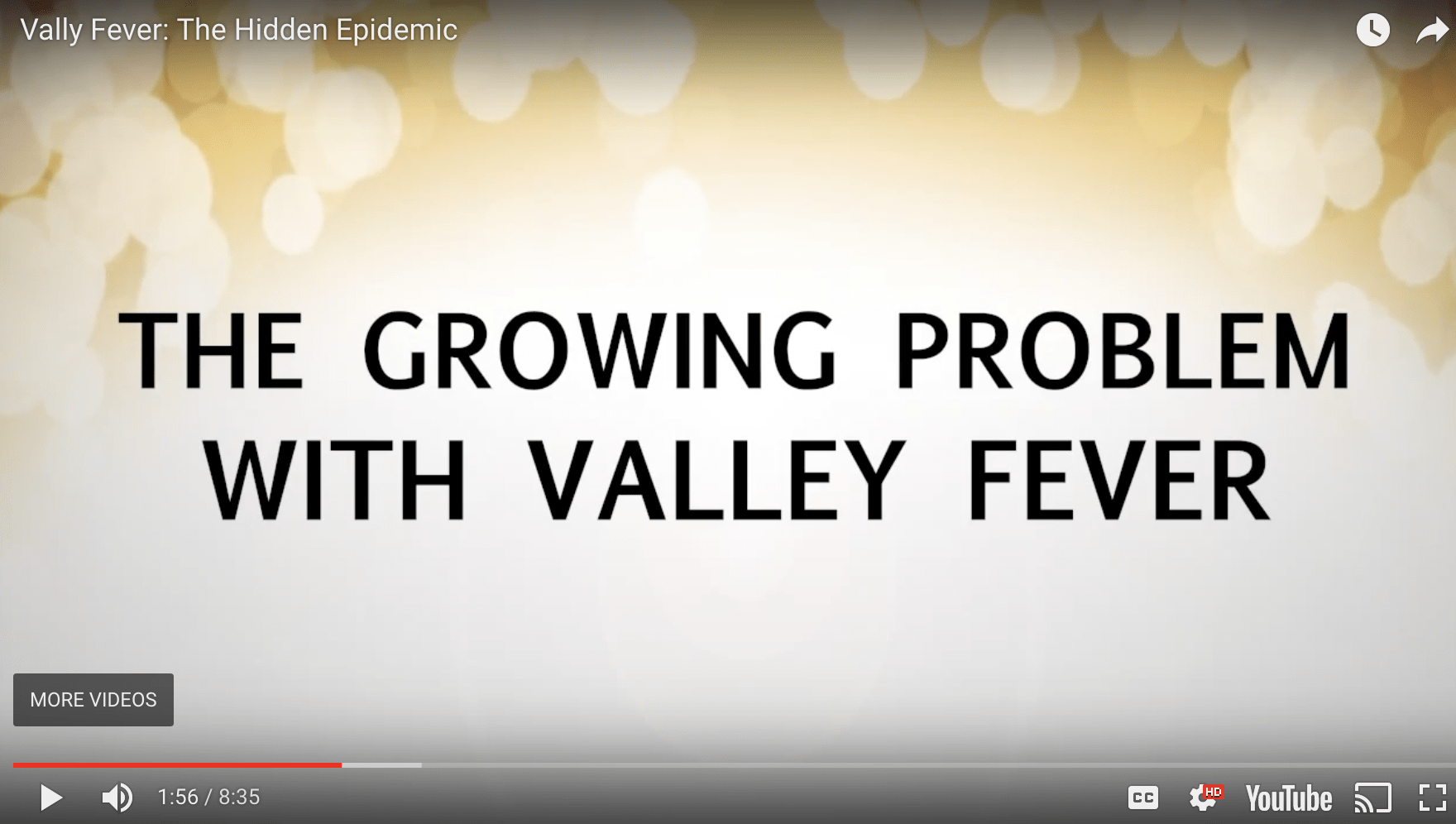 Valley Fever: The Hidden Epidemic