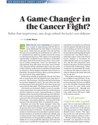 Game-Changer in the Cancer Fight
