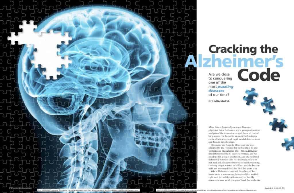 Cracking the Alzheimer's Code