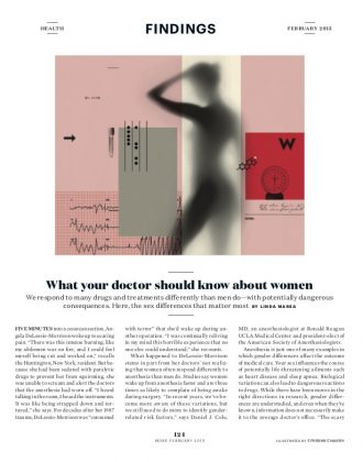What your doctor should know about women