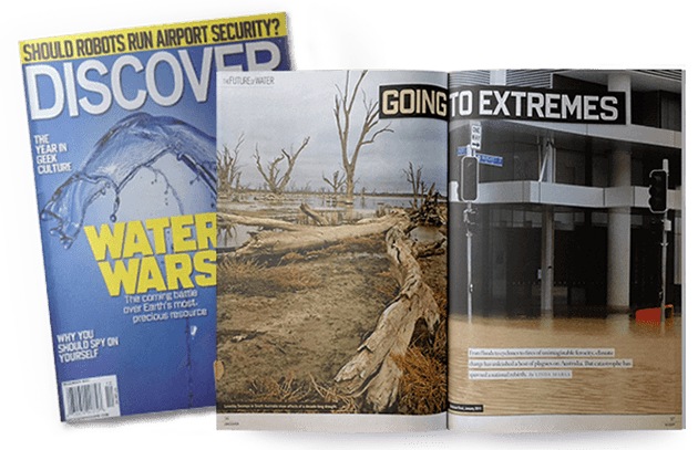 Going to Extremes, Discover magazine